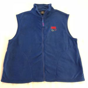 100% Authentic USA Olympic Committee Size L Vest!!